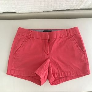 ◾️JCrew◾️4' chino shorts